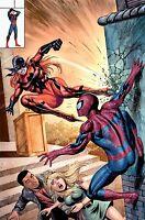 PETER PARKER SPECTACULAR SPIDER-MAN #1 TYLER KIRKHAM HOMAGE VARIANT MARY JANE