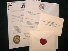 Personalized Hogwarts Rejection Letter (basic set) - Harry Potter