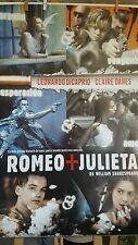 Romeo and Juliet 1996 Original Spanish Movie Poster  RARE Leonardo Dicaprio