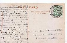 Genealogy Postcard - Family History - Kennett - Scott Street - Maidstone  U4535