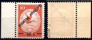 1912 GERMANY FLUGPOSTRHEINUND MAIN.Mi.IVK.Pr.15000 € MNH SIGNED