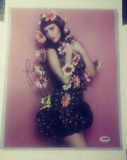 Katy Perry Signed Sexy Authentic Autographed 11x14 Photo PSA/DNA