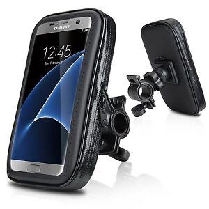 support telephone Housse etui etanche support GPS moto velo scooter guidon