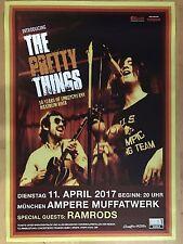 THE PRETTY THINGS 2017 MÜNCHEN -- orig.Concert Poster - Konzert Plakat A1 xx