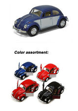 "Set of 4: 5"" 1967 VW Classic Beetle with 2-Tone Panel Door 1:32 Scale"