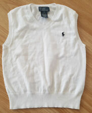 Polo by Ralph Lauren white vest, waistcoat for boy 5 years / 5T