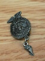Silver Tone Agricultural Education Collectible Pin / Hat Lapel **READ**
