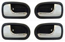 4 pc SET Inside  LH + RH Door Handle Fits: 95 - 03 Mazda 323 PROTEGE or Protegé5