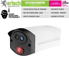 Fever Screening Thermal Face/Body Temperature Scanning IP Camera Bi-Spectrum