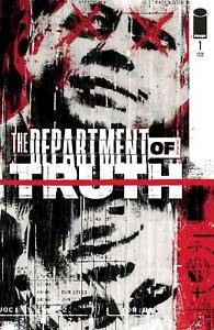 Department Of Truth #1 Cvr A Simmonds  (2020 Image Comics) First Print Simmonds