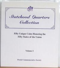 (LOT 2) Index Panels to Volumes I and II Statehood Quarters Collection F