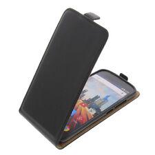 Tasche für Archos 50e Helium Smartphone Flip-Style Schutzhülle Flip Case Schwarz