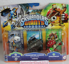 Dragonfire Cannon Battle Pack - Skylanders Giants Erweiterung Neu OVP RAR