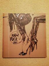 Raw Fcuk IT Ashley Wood Art Book 3A threeA threezero IDW VERY RARE SOLD OUT