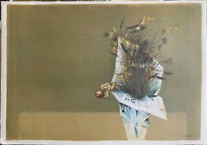 GIOVANNI CAPPELLI    Mazzo di Fiori   50x70 litografia firmata anno 1975  n 7/99