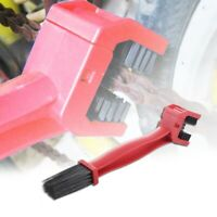 Cycling Motorcycle Bicycle Chain Crankset Brush Cleaner Cleaning Tool(red) R4R8