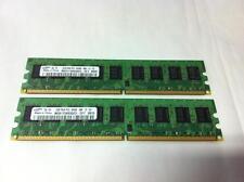 SAMSUNG 2 X 2GB = 4GB 2RX8 PC2-6400E SERVER MEMORY RAM M391T5663QZ3-CF7