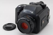【Top Mint】Pentax 645NII  645N II w/ A 75mm F/2.8 120 Film back From Japan #216