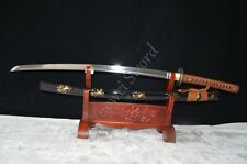 Handmade 1060 High Carbon Steel Katana Real Sword Japanese Samurai Bamboo Style