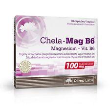 OLIMP CHELA-MAG B6 30 caps magnesium vitamin B6 metabolism