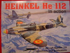 Heinkel He 112 in Action No. 1159-- Squadron/Signal Publications