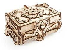 Ugears Modellbausatz Antik Box Schatulle für Schmuck Holzmodell 3D Puzzle