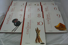 Cocinas Del Mundo: El Comercio 10 Book Set 2005 Hardcover Cookbook Peru Rare