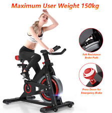 2021 Indoor Adjustable Resistance Cycling Stationary Exercise Bike