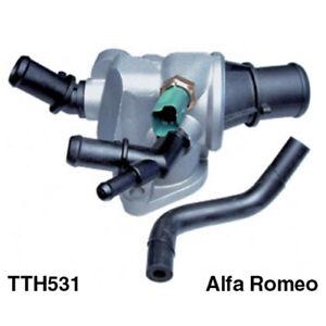 Tru-Flow Thermostat & Housing TTH531 fits Alfa Romeo 159 2.4 JTDM (939)