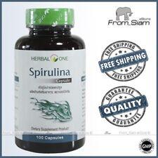 SPIRULINA 400mg Blue-Green Algae, Cyanobacteria - 100 Capsules