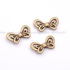 20/50/100Pcs Tibetan Silver Butterfuly Charm Space Beads SH123