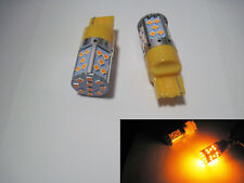 2x 30W 3030SMD 7440 No Resistor Required LED Turn Signals fix hyper flash Amber