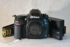 Minty Condition Nikon D610 24.3 MP Digital SLR Camera - Black (Body Only)