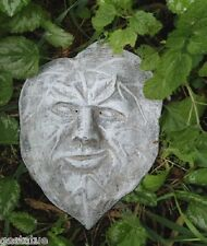 cement plaster leaf face with no tips #2 stone plastic mold