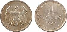 Allemagne, 1 mark, 1924 Berlin, argent, SUP - 39