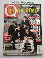 Q MAGAZINE - March 2002 - Q on the Road / Travis / Madonna / U2 / Pop Idol