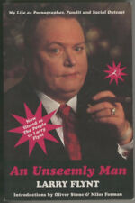 Book : An Unseemly Man by Larry Flynt (Hustler magazine)