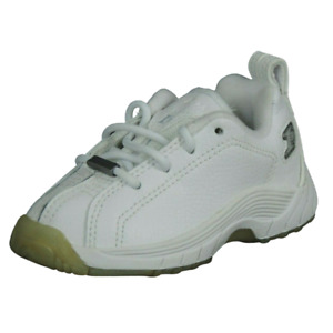 Reebok I3 Playoff Low Toddlers Shoes 84-74990 Basketball White Leather Size 8C