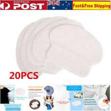 20Pcs Armpit Sweat Pads Disposable Underarm Absorbing Anti Perspiration Shield