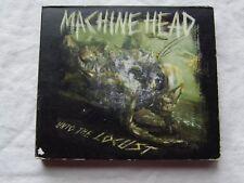 """Machine Head - """"Unto the Locust"""" CD + DVD 1st press 2011 Deluxe Edition Package numérique"""