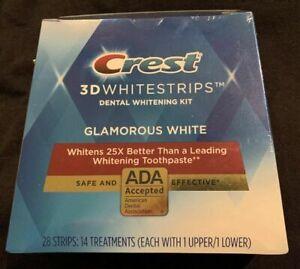 Crest 3D  Whitestrips   GLAMOROUS WHITE  expdt Oct 2022