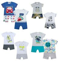 Baby Boys Short Romper New with Tags Ideal for Baby Gift Newborn to 12 Months