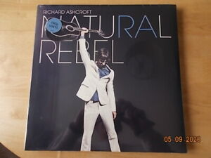 LP RICHARD ASHCROFT: NATURAL REBEL ( NEW & SEALED ) VINYL RECORD