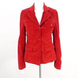 CLOSED Jacke Damen rot Baumwolle Gr. S Jackets Coats Cotton