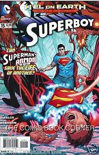 DC Comics New 52 SUPERBOY #15 Very Fine Bagged Boarded 1st Print H'EL ON EARTH