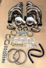 NEW Big Block Chevy Twin Turbo kit BBC 366 396 402 427 454 Package Huge Headers