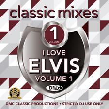 DMC Elvis Preley Megamixes & 2 Trackers Mixes Remixes Ft Cliff Richard DJ CD
