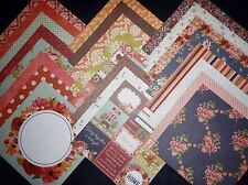 12X12 Scrapbook Paper Cardstock Fall Harvest Boutique Family Gathering Home 24