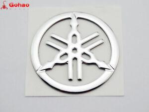 5.5cm Gas Tank Fairing Tuning Fork Emblem Badge Decal for Yamaha R1 R6 YZF R3