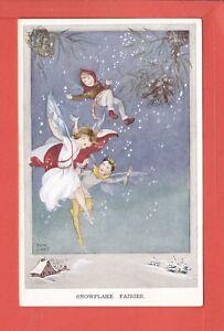 RENE CLOKE Snowflake Fairies p/unused pub Valentine's